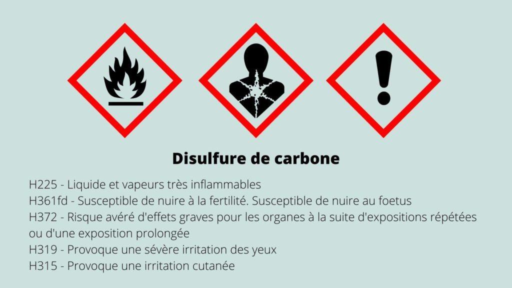 Disulfure de carbone danger santé