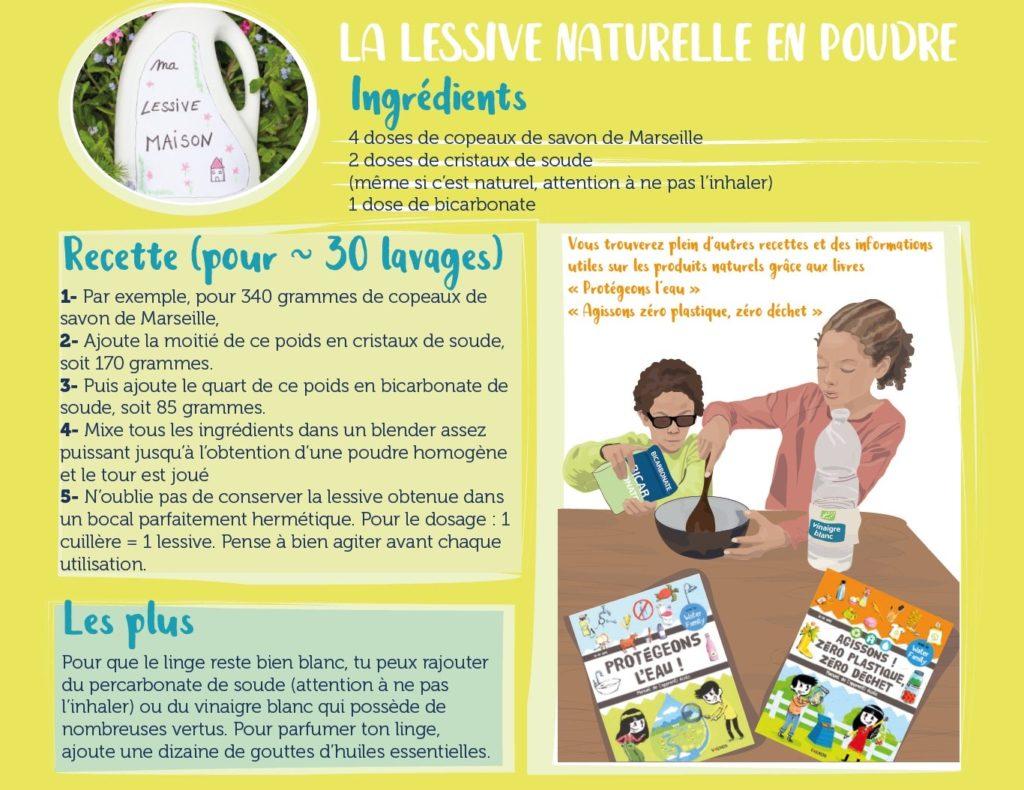 Lessive naturelle au savon de Marseille écologique et économique