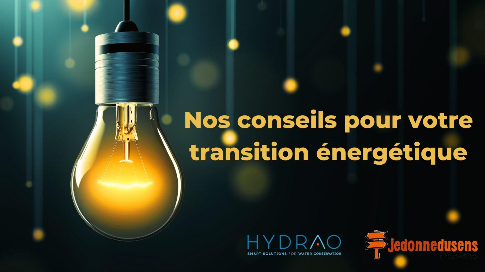 Conseils transition énergétique