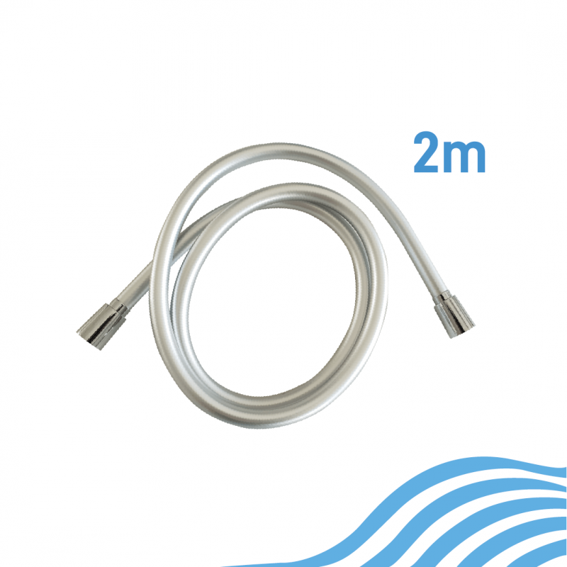PVC shower hose 2 m